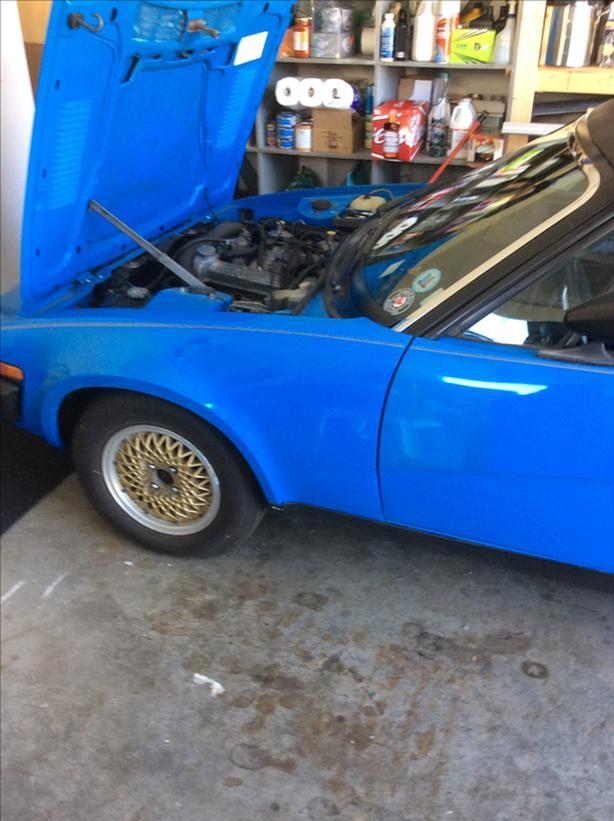 1980 TR7 Convertible