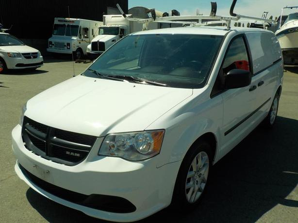 2014 Dodge Ram Grand Caravan Cargo Van with Shelving & Ladder Rack