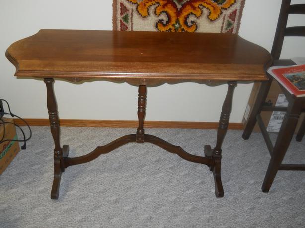 Antique walnut sofa table windsor park southdale winnipeg antique walnut sofa table watchthetrailerfo