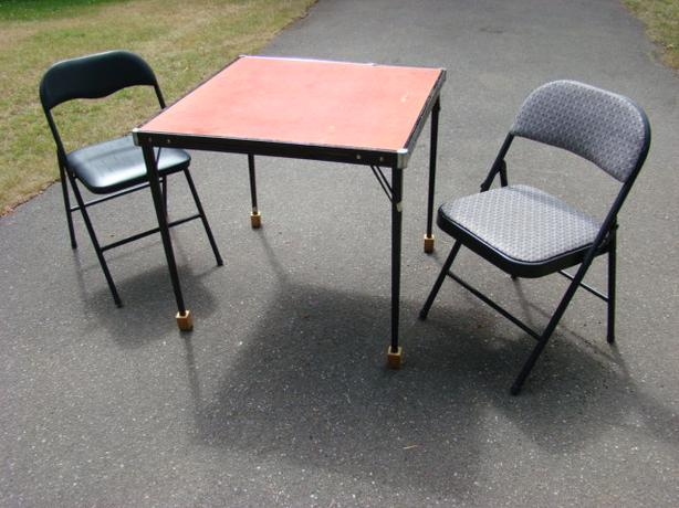 Cooey Folding Card Table and Chairs