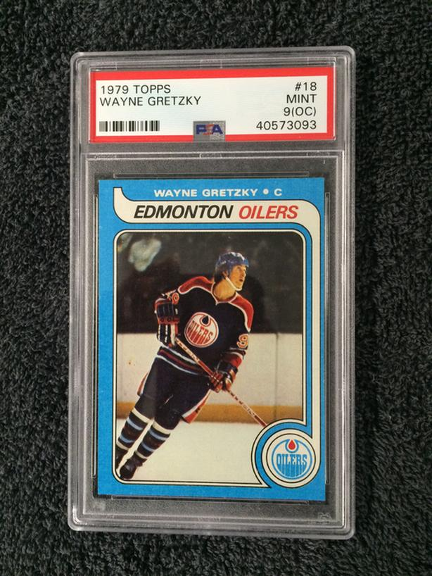 1979 Gretzky Rookie Card Psa 9 Outside Victoria Victoria