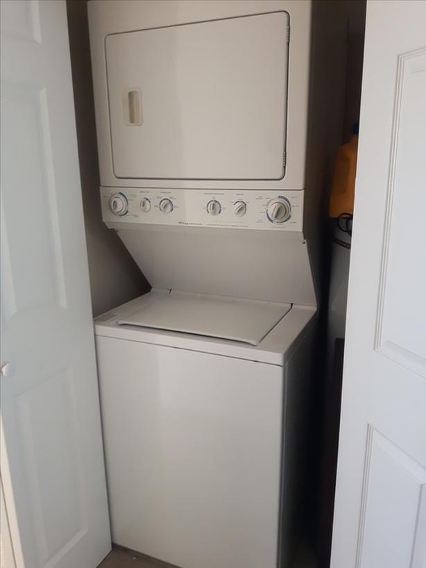 Frigidaire Stacked Apartment Washer/Dryer