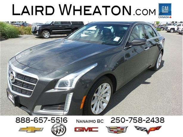 2014 Cadillac CTS Sedan Luxury AWD Moonroof
