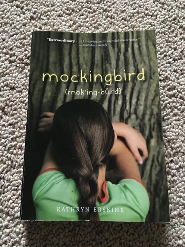 MOCKINGBIRD by Kathryn Erskine Paperback - LIKE NEW