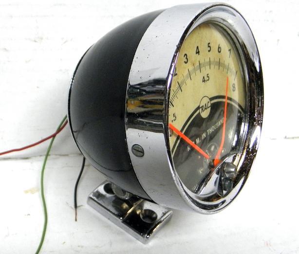 1964 Ford Chevy Mopar RAC Vintage Nostalgia Speed Tachometer Tach