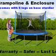 Trampoline & Enclosure Sale 8',11',12',13',14',15',17'Oval