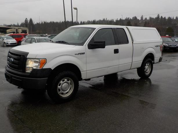 2012 Ford F-150 SuperCab 6.5-ft. Bed 4WD Canopy