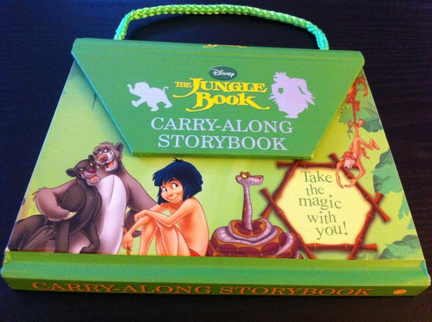 The Jungle Book Carry-Along Storybook--Like New