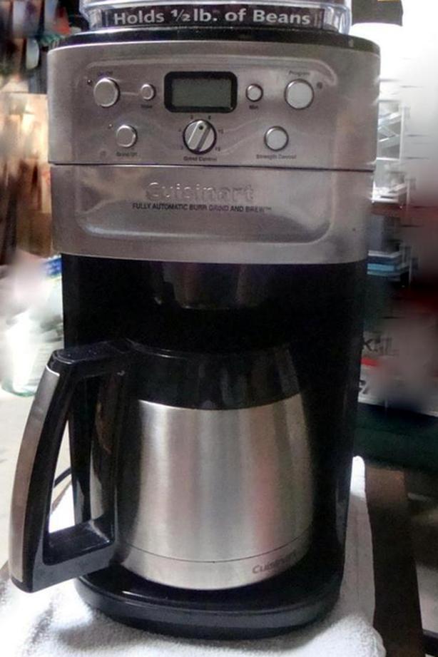 "Cuisinart ""Grind & Brew"" Coffemaker"