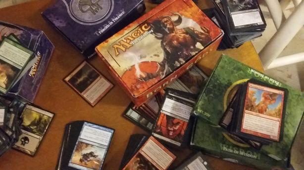 Magic Gathering cards