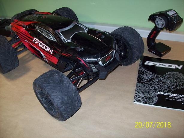 RC Monster Truck by ARRMA
