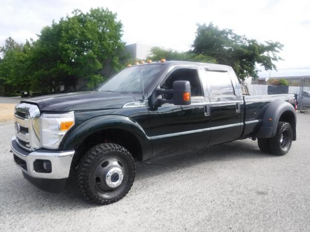 2014 Ford F-350 SD Crew Cab Long Bed Dually 4WD