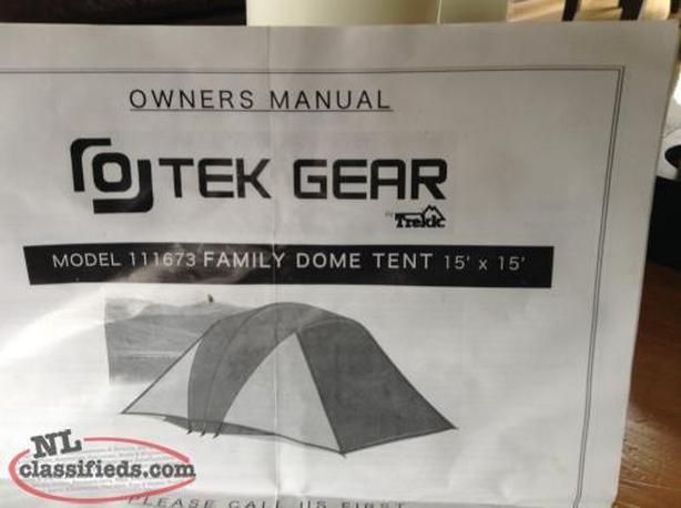 O-Tek Gear (Costco) Lake Louise 10 Person Tent
