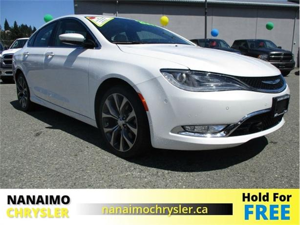 2015 Chrysler 200 C One Owner No Accidents