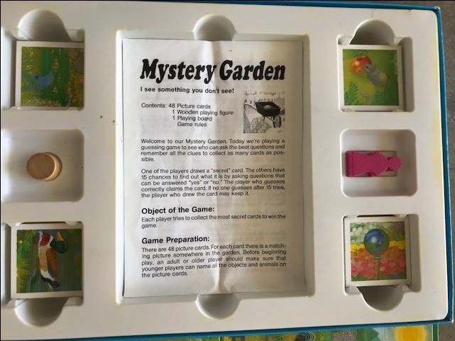 $10 · Mystery Garden