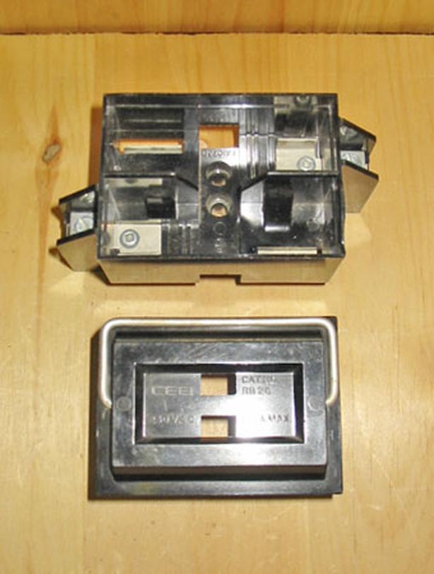 CEB 30/60 Amp Fuse Holder & Fuse Block (Complete Set) ~ Rare!