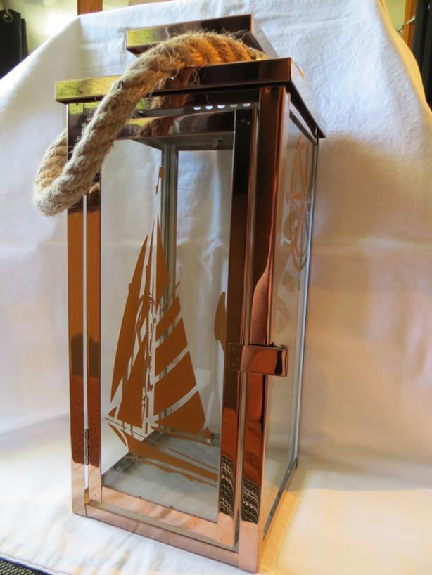 Nautical Lantern - Copper Color