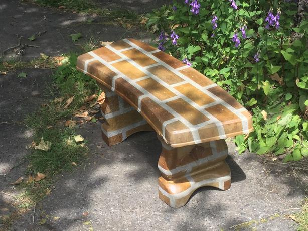 Marvelous Log In Needed 315 Decorative Concrete Garden Bench Evergreenethics Interior Chair Design Evergreenethicsorg