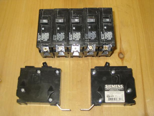 "SIEMENS Type BL ""Bolt-On"" Circuit Breakers ~ Mixed Lot!"