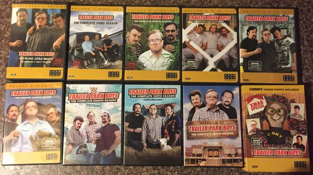  Log In needed $30 · Trailer Park Boys (Seasons 1-10 + Xmas Special) on DVD