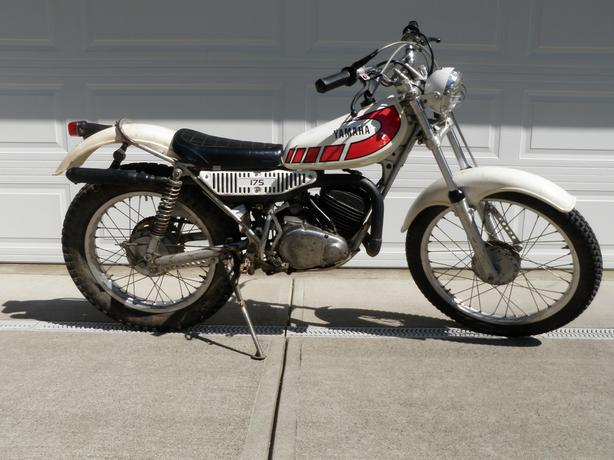 1978 yamaha TY 175