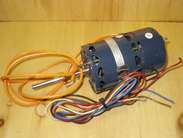 1/40 HP Draft Booster & Flue Exhaust Switch Type Blower Motor ~ Rare!