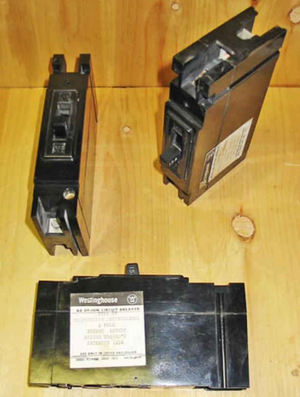 WESTINGHOUSE EH 15 Amp, 1 Pole, 350 Vac Circuit Breaker ~ Rare!