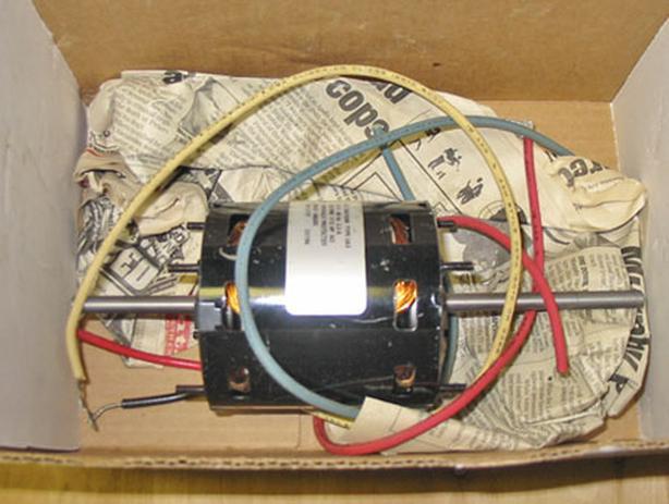 "ROTOM T3-R717 3.3"" Diameter Motor (1/2 HP, 115V, 1550 RPM, 3 SPD) ~ Rare!"