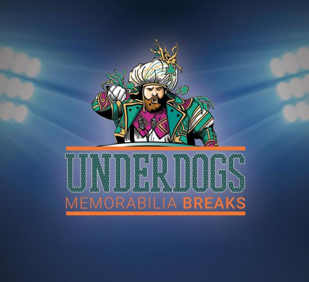 FREE: Underdogs Memorabilia Breaks