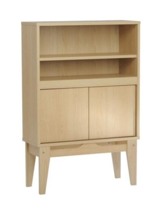 Ash Wood Laminate Wall Unit Cabinet Bookshelf BRAND NEW Never Used