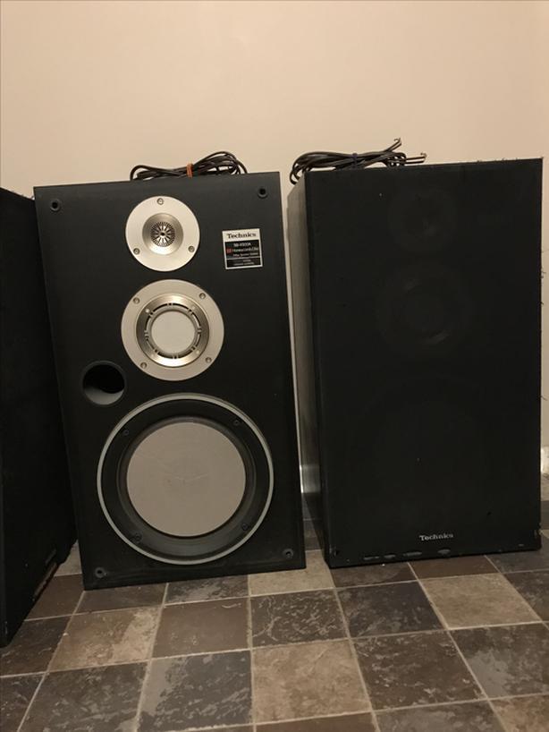  Log In needed $150 · Technics SB-X500A speaker pair