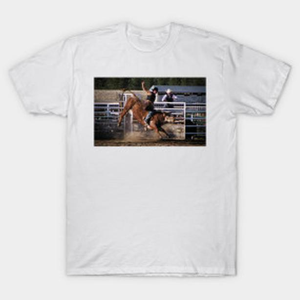 Rodeo Bull Rider Tshirt, great for the fan of Rodeo!