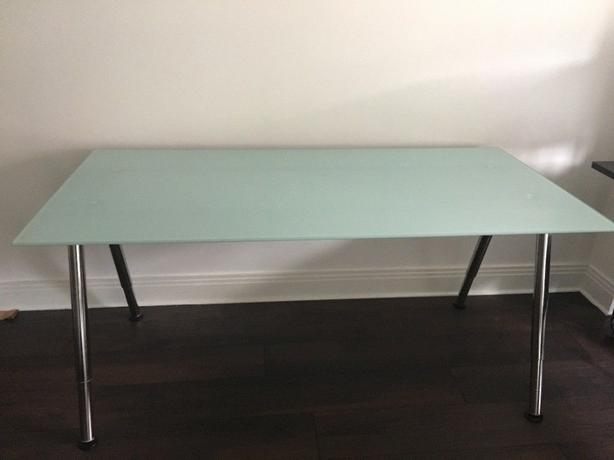 Adjustable Ikea Galant Desk