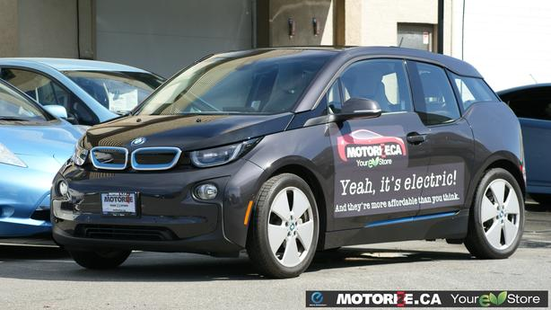 2014 BMW i3 w/REX – Quick Charge Package – Tech+Driving/Park Assist – M8676