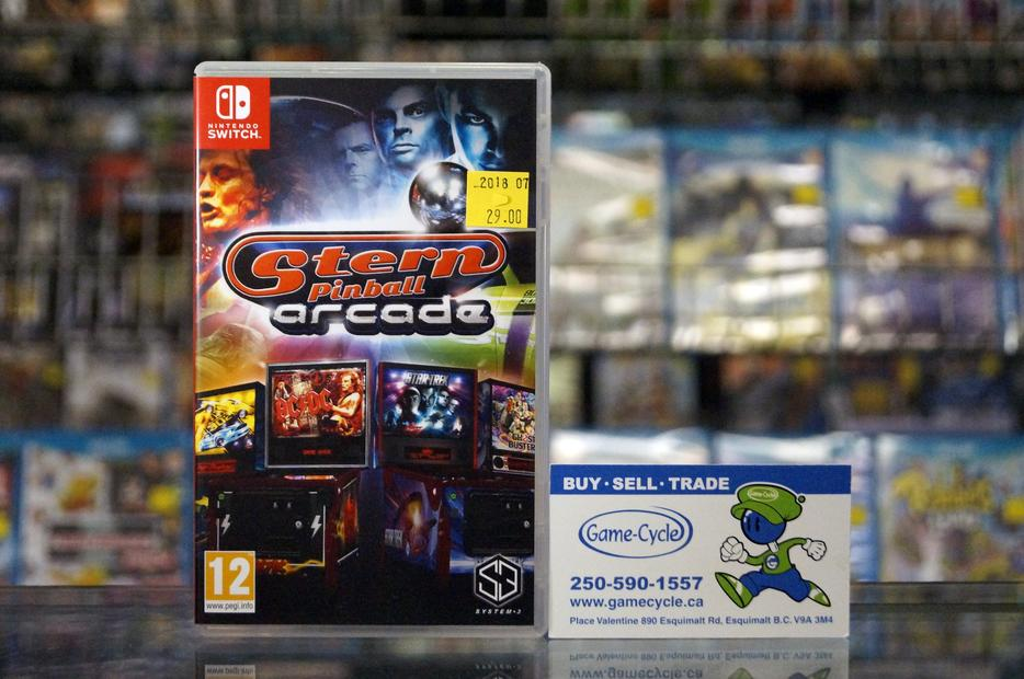 $29 · Stern Pinball Arcade For Nintendo Switch @ Game Cycle