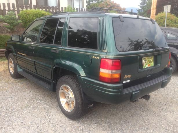 1997 Jeep Grand Cherokee Limited 5.2L V8 Open To Offers