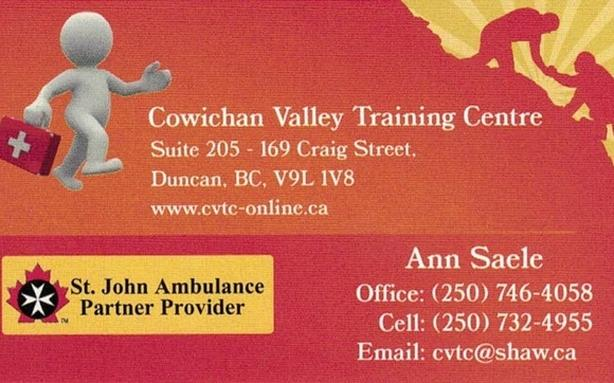 Standard First Aid - CPR-C-AED  Oct.27 & 28, 2018