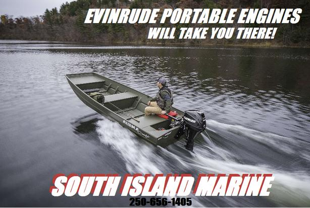 Evinrude Portable Engines 3 5 – 15HP!!! North Saanich