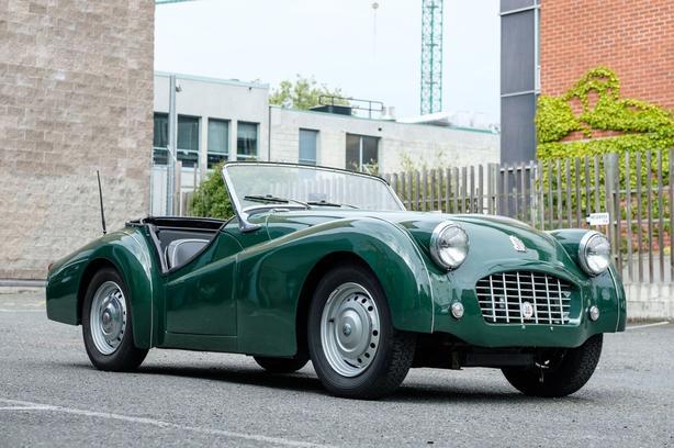 1957 TR 3 Smallmouth