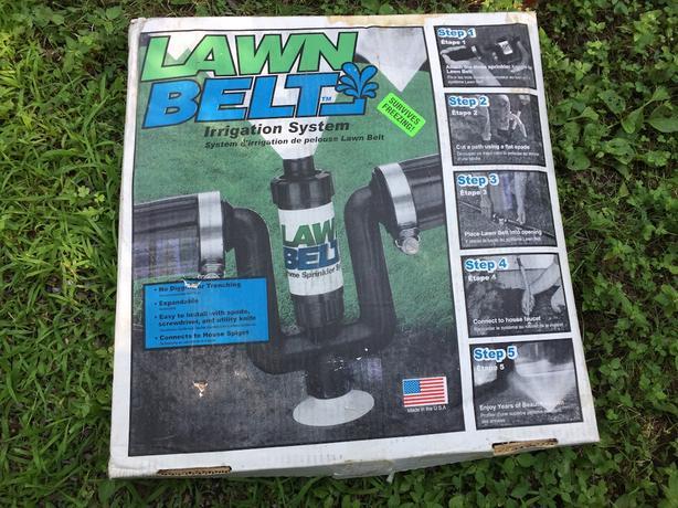 6 Lawnbelt Kits - do-It-Yourself easy sprinkler system