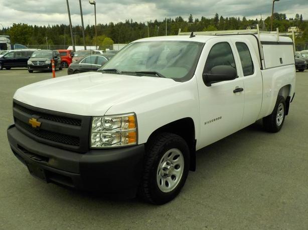 2013 Chevrolet Silverado 1500 Work Truck Ext. Cab Short Box 2WD Canopy