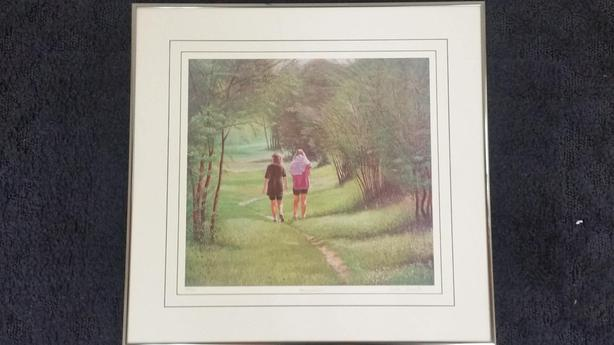 GIRLS LIMITED EDITION PRINT -- REDUCED