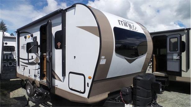 2018 Forest River Rockwood Mini Lite 2104s Outside Metro