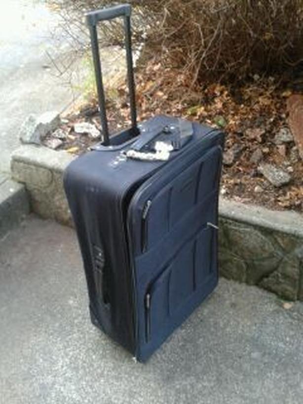 Suitcase  U Brew bottles / Boots / Keyboard