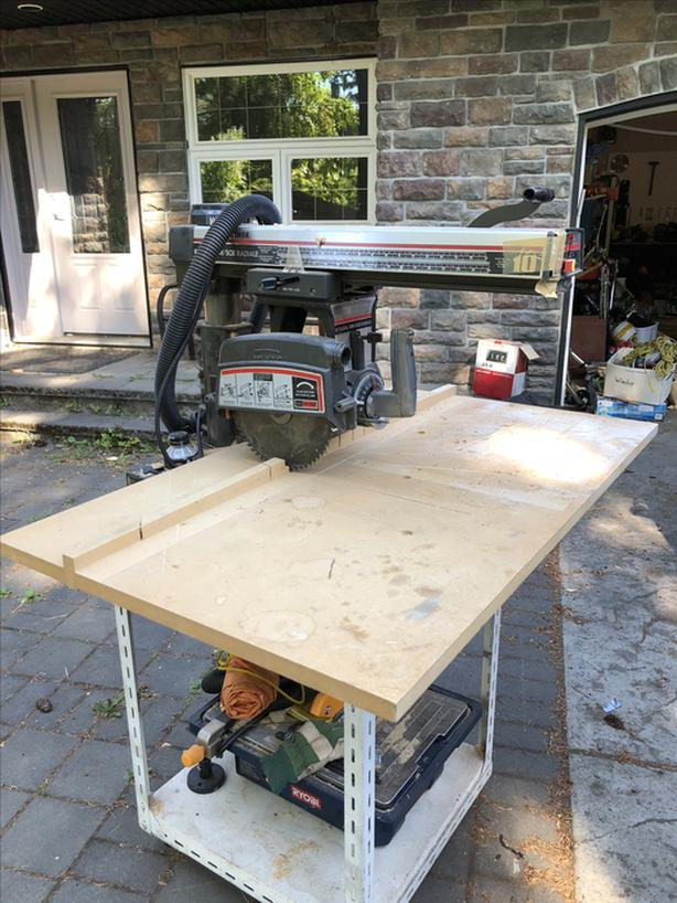Craftsman Radial Arm Saw (Professional Series) Central