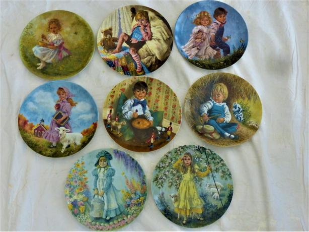 John McClelland Mother Goose Collector Plates