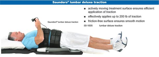 Saunders Portable Lumbar Traction Device West Shore