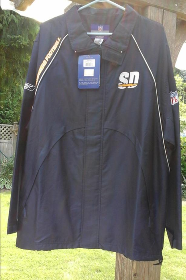 newest 03e6c 192d3 Official NFL San Diego Chargers Jacket Qualicum, Nanaimo
