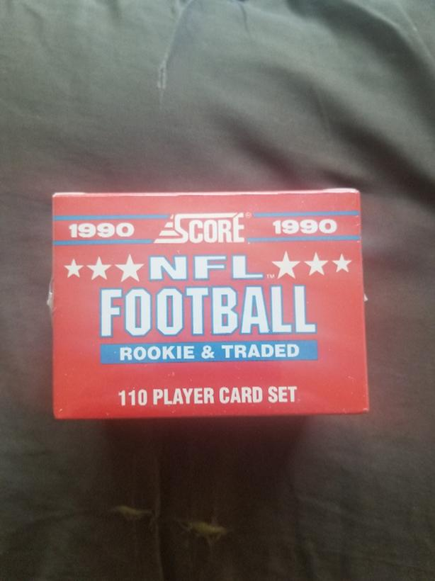 1990 Score Rookie Amp Traded Nfl Set Victoria City Victoria