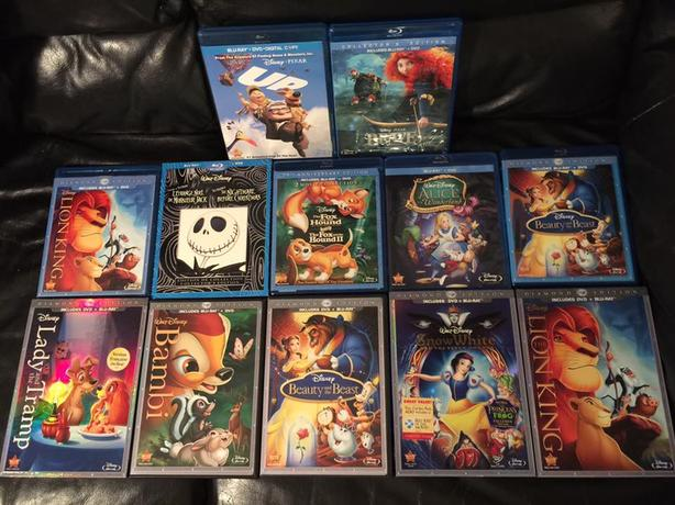  Log In needed $150 · Disney blu ray sets  2 for $30  Lots of Diamond  edition